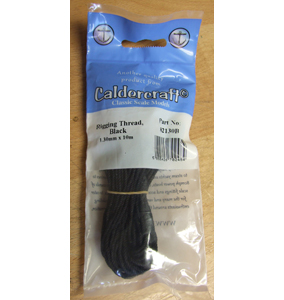 1.00mm Hemp Rigging Thread, Black