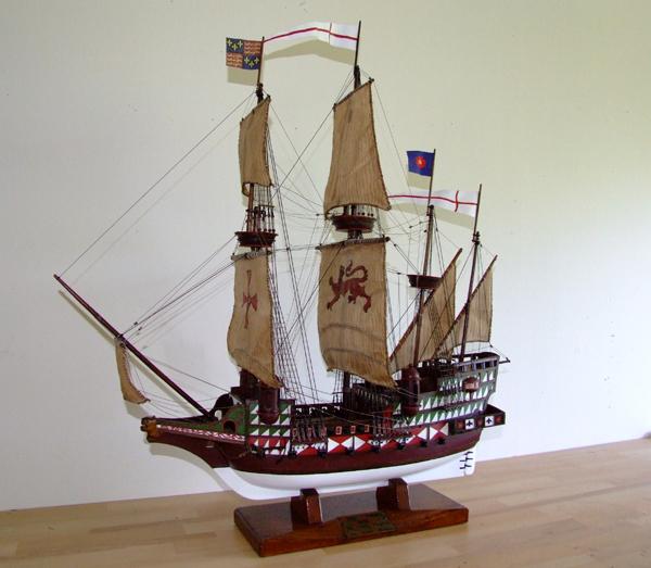 Ark Royal Cira 1587 Ship Amp Boat Restorations