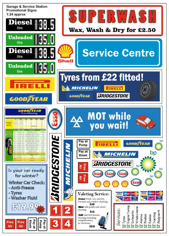 Decals And Graphics For Model Signs Self Adhesive Vinyl