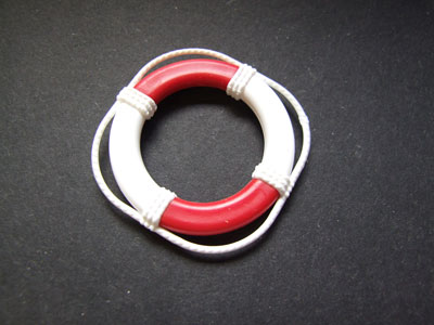 Lifebelt Red and White